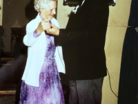 1986 05 10 Kirchliche Hochzeit Tanz mit Oma