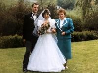 1986 05 10 Kirchliche Hochzeit mit Mutter