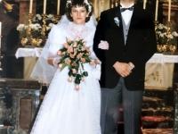 1986 05 10 Kirchliche Hochzeit vor Altar