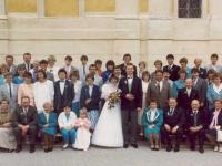 1986 05 10 Hochzeit Gruppenfoto