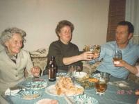 1988 12 26 Weihnachten in Würzberg mit Oma