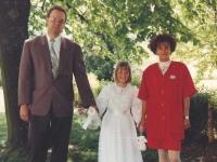 1992 05 28 Erstkommunion Tochter Karin