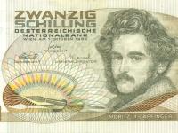 2002 01 01 Letzter Schilling Geldschein in der Geldtasche