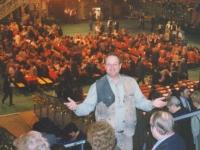 2002 12 31 Silvesterstadl Linz_vorher Essen im Klosterhof