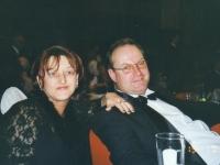 2003 01 18 Ball der OÖ in Wien Übernachtung bei Manuela Reizl Hermangasse 33