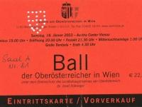 2003 01 18 Ball der OÖ in Wien mit Ingrid