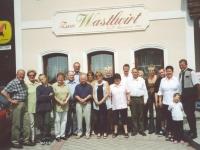 2003 05 17 40 Geburtstag Gerald Familienessen Wastlwirt Gruppenfoto