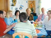 2005 05 07 Firmung Ged Baumgartner anschl Kaffee im Hause Baumgartner