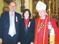 2005 05 07 Firmung Ged Baumgartner durch ehem Probst Stift Reichersberg