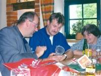 2005 06 12 40 Geburtstag Roland Allianz Arena Geschenke