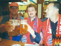 1999 09 28 Oktoberfest München mit Hans Samhaber und Roland Stutz 1