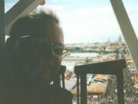 1999 09 28 Oktoberfest München mit Hans Samhaber und Roland Stutz Riesenradfahrt
