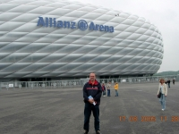 2005 08 17 Besichtigung Allianz Arena mit Ingrid