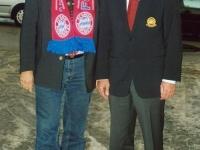 2005 11 27 Karl Hopfner FC Bayern Vorstand bei der Weihnachtsfeier Fanclub Hausruckviertel Hehenberg