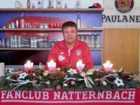 2016 12 24 Weihnachtsgrüsse vom FC Bayern Fanclub Natternbach durch Obmann Hannes