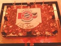 2014 07 03 Jubiläumsfeier 25 Jahre Fanclub Vorstand und Gründungsmitglieder Geburtstagstorte