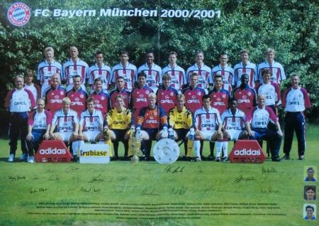 2000 08 12 Mannschaftsfoto 2000 2001