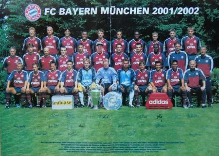 2001 08 04 Mannschaftsfoto 2001 2002