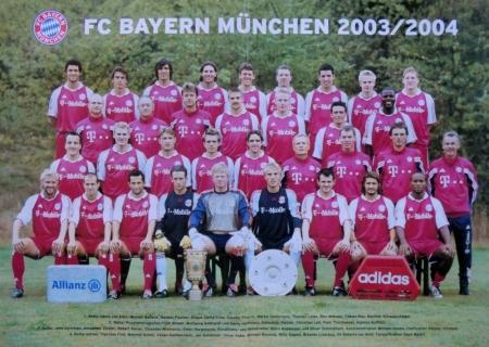 2003 08 01 Mannschaftsfoto 2003 2004