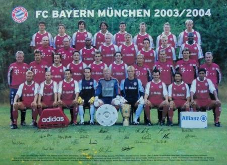 2003 08 16 Mannschaftsfoto 2003 2004