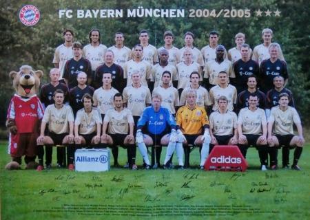 2004 08 14 Mannschaftsfoto 2004 2005