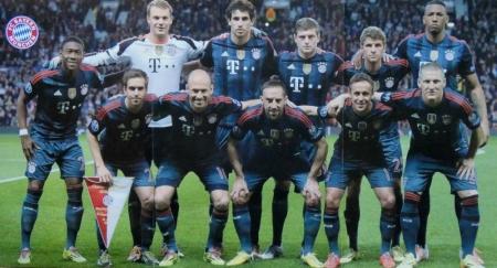 2014 04 01 Champions League Spiel gegen Manchester United
