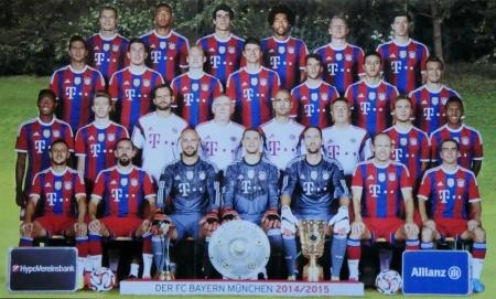 2014 08 22 Mannschaftsfoto 2014 2015