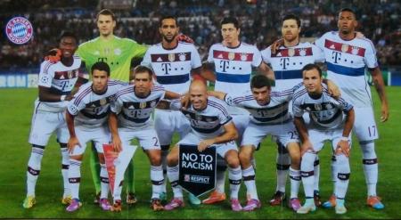 2014 10 21 Champions League Spiel gegen AS Rom