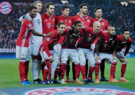 2017 02 15 Champions League Spiel gegen Arsenal FC