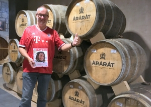 2016 10 16 Armenien Jerevan Ararat Brandy Produktion