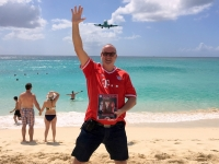2017 03 18 St Marteen Maho Beach