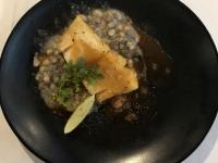 Gebratener Heilbutt und Bouillabaisse Sauce 2019 Elegant
