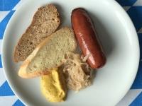 Frühschoppen Grillwurst mit Sauerkraut 2020 Queen