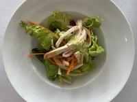 Gemischter Salat mit Hühnebruststreifen 2021 Brilliant