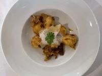 Kartoffelgnocci und Oliven Espuma 2021 Brilliant