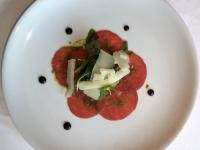 Rinder Carpaccio mit Parmesan Chip 2018 Elegant