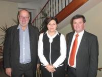 2014 12 10 Neue Ärztin in Kallham Dr Emilie Geschef