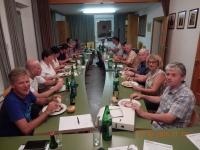2015 08 31 Meine letzte ÖVP-Fraktionssitzung mit anschl Leberkäsjause
