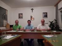 2015 09 02 Meine letzte Gemeinderatsitzung mit Bürgermeister und Amtsleiter