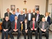 2016 12 14 Verleihung der Ehrennadel alle Goldenen Empfänger mit Gemeindevorstand