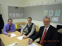 2013 09 29 Letzte NR-Wahl als Gemeindewahlleiter mit Gemeindebeamte