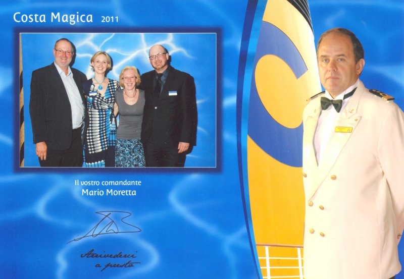 2011 05 25 Costa Magica Kapitän Mario Moretta