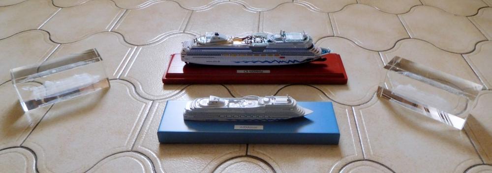 AIDA Flotte Modelle März 2017