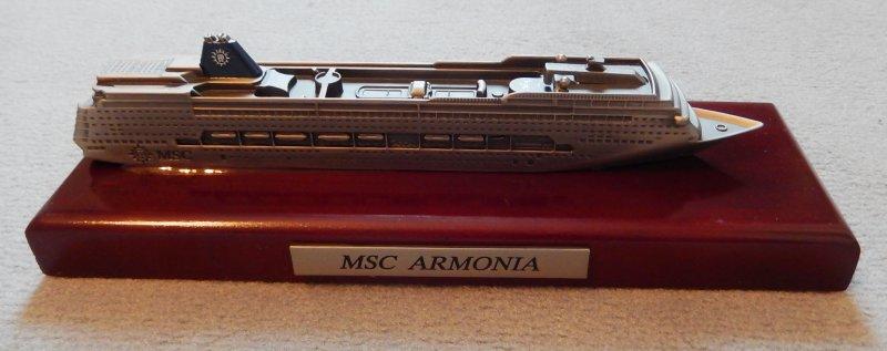 MSC Armonia Modell