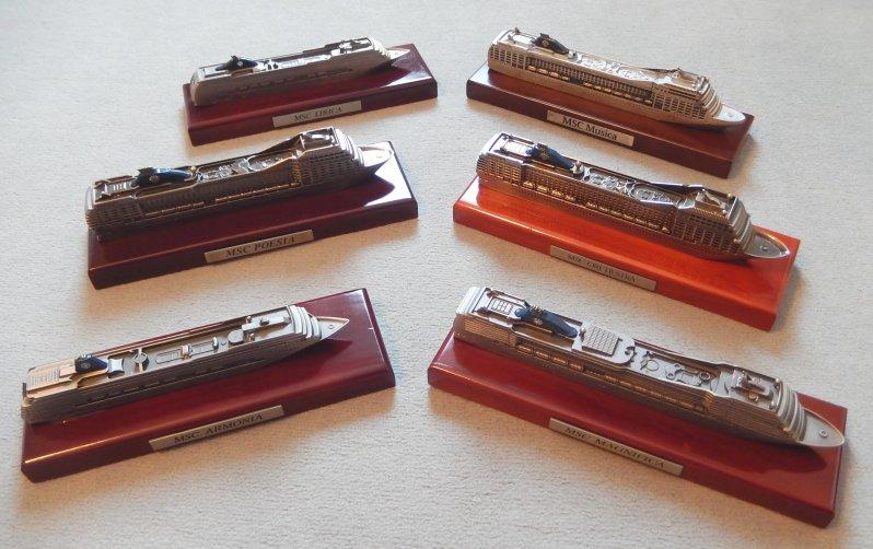 MSC Flotte Modelle