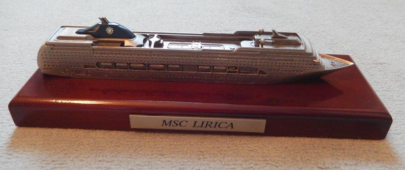 MSC Lirica Modell
