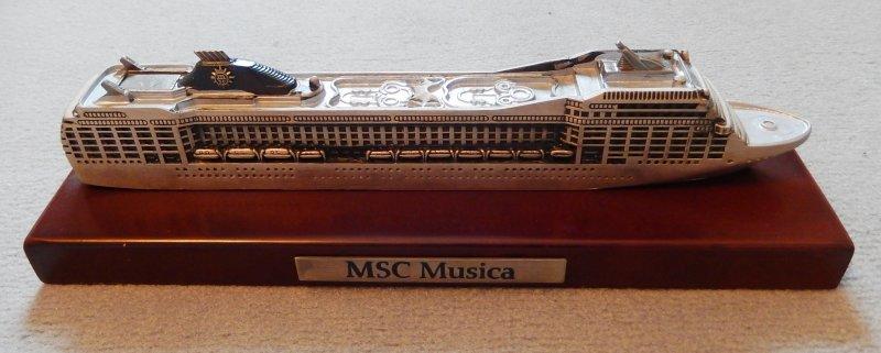 MSC Musica Modell