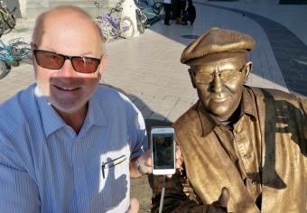 2020 09 03 Krakau Polen Fotovergleich auf der Homepage