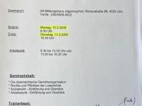 2008 03 10_11 AK Laienrichterausbildung Modul 1 Einladung