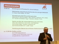 2016 12 01 AK Laienrichterempfang Jägermayrhof Linz Begrüssung